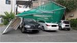 춘천서 개인골프연습장 구조물 날아가 차량 4대 파손
