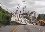 '링링' 강풍에 전국 아수라장…3명 사망에 부상자도 속출