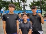 강원카누 유망주들 전국 선수권 메달 싹쓸이