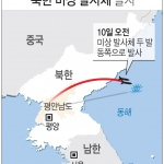 北 10번째 발사체는 330㎞ 비행…신형무기 '내륙횡단' 가능성
