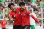 한국축구, 월드컵 10회 연속 본선행 시동…투르크멘에 2-0 승리
