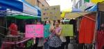 횡성 자살예방 거리캠페인