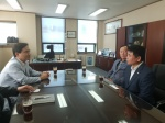 김진태 의원, 가평군수 면담