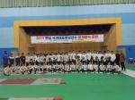 펜싱 국가대표 후보 선수단 양구서 훈련