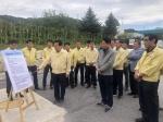 농협중앙회장 거점소독시설 방문