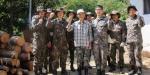 육군11사단 참전용사 땔감 전달