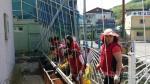 '폐광지역 도시재생' 골목길 담벼락, 식물원으로 탈바꿈