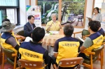 삼척시장 민원행복의 날 행사 참석