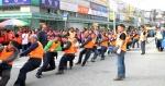 홍천 인삼명품축제 민관군 줄다리기