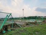 태풍 지난 자리 생활체육시설 '아수라장'