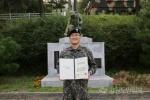 심정지 상태 고령의 운전자를 심폐소생술로 살린 육군 장교