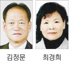 김정문 국민포장·최경희 대통령표창