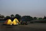 [혁신도시 리포트]차에서 하룻밤 '차박'· 가벼운 '캠프닉' 달라진 캠핑문화