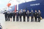 동해해경청, 러시아 함정 입항 환영식