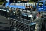 멧돼지 포획틀 전방부대 배포