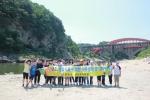 철원 대교천 수중생물 서식환경 열악