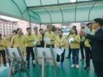 동해시의원 특수학교 건설현장 점검