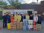농협 태백시지부 돼지열병 거점소독시설 위문