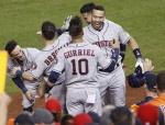 MLB 휴스턴, WS 우승에 1승 남았다…워싱턴에 7-1 완승