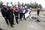 양구군수 하수처리시설 공사현장 점검
