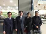 정재경 강원중소벤처기업청장 한림대 방문