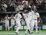한국 야구, 프리미어12서 아쉬운 준우승…일본에 3-5 역전패