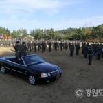 육군 8군단장 강창구 중장 취임