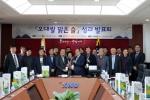 철원 오대쌀 원료로 고품질 청주 시제품 제조 성공
