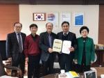 홍천교육청 지구촌 사랑나눔 후원금 기증서 전달