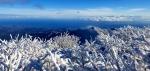겨울왕국으로 변한 설악산