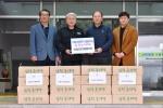 삼척 농업인단체협 성품 기탁