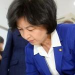 추미애 민주당 국회의원 법무부 장관 후보자 지명