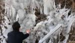 최저기온 영하 19.3도, 얼어붙은 강원도