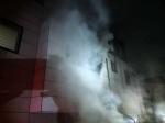 원주 주택 2층서 불…1명 화상·3명 연기 흡입