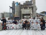 횡성 동서산업·이레건설 연탄 전달