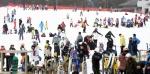 마지막 주말 스키장 인파