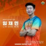 강원FC, FA 중앙 수비수 임채민 영입
