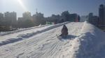 속초시 엑스포공원내 눈썰매장 운영