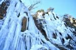 얼음폭포 겨울 장관