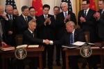 미중, 1단계 무역합의 서명…중, 2년간 2천억불 미 제품 구매