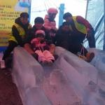 양구 자연생태공원 얼음썰매장 인기몰이