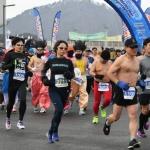 대관령눈꽃축제 알몸마라톤 대회