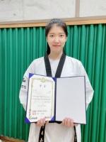 춘천시청 안새봄 태권도 국가대표 선발