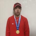 평창출신 김민우 전국스키대회서 4관왕