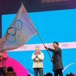 2024강원동계청소년올림픽 대회기 인수