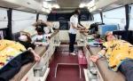 동해 폭발사고 환자 위한 헌혈 운동