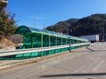 홍천 국도44호선 지하통로 눈·비가림시설 설치