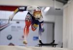 스켈레톤 윤성빈, 월드컵 8차대회 동메달