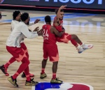'코비를 기리며' 치열하게 싸운 NBA 올스타전…MVP는 레너드