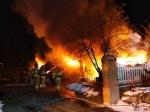 원주 중고가전제품 창고서 불